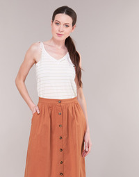 Vêtements Femme Tops / Blouses Betty London KATACEL Blanc / Or