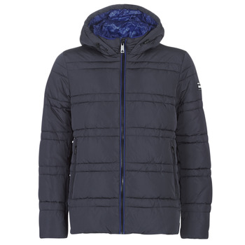 Vêtements Homme Doudounes Scotch & Soda CLASSIC HOODED PRIMALOFT JACKET Marine
