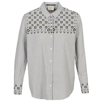 Chemise BUTTON UP SHIRT WITH BANDANA PRINT - Maison Scotch - Modalova
