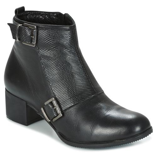 Chaussures Femme Bottines Andrea Conti CASTEL Noir