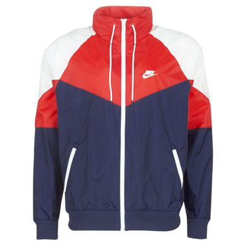 Vêtements Homme Coupes vent Nike M NSW HE WR JKT HD + Marine