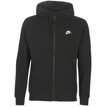 Vêtements Homme Sweats Nike M NSW CLUB HOODIE FZ BB Noir