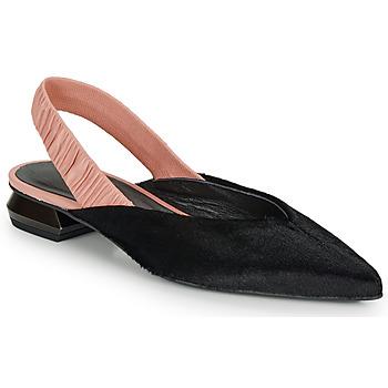 Chaussures Femme Ballerines / babies Fericelli SWEDES Noir / Rose
