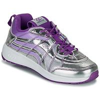 Chaussures Fille Chaussures à roulettes Heelys NITRO Argenté / Violet