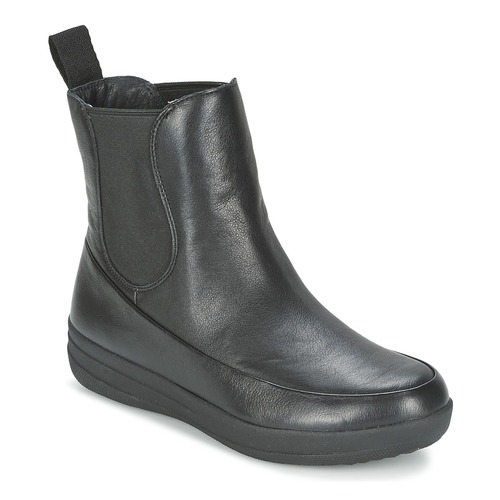 Chaussures Femme Boots FitFlop FF-LUX CHELSEA BOOT Noir