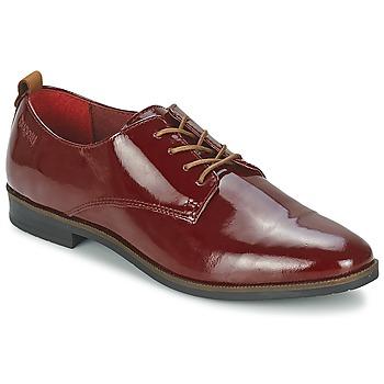 Chaussures Femme Derbies Bugatti VICTORIA Bordeaux