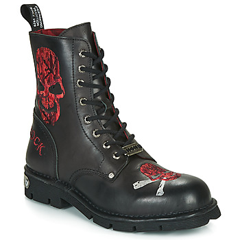 Chaussures Homme Boots New Rock MNEWMILI85 Noir