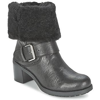 Chaussures Femme Boots Clarks PILICO PLACE Noir