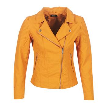 Vêtements Femme Vestes en cuir / synthétiques Only ONLMEGAN Jaune