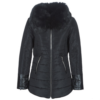 Vêtements Femme Doudounes Betty London LACAMAS Noir