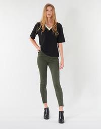 Vêtements Femme Pantalons 5 poches Vero Moda VMSEVEN Kaki