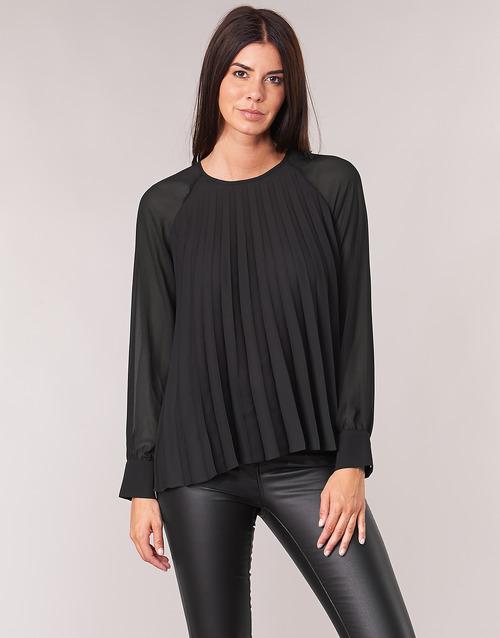 Vêtements Femme Tops / Blouses Moony Mood LAURA Noir