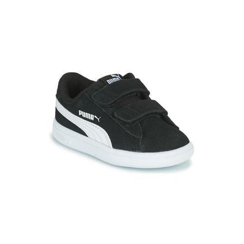 Chaussures Enfant Baskets basses Puma SMASH INF Noir