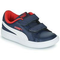 Chaussures Garçon Baskets basses Puma SMASH Marine