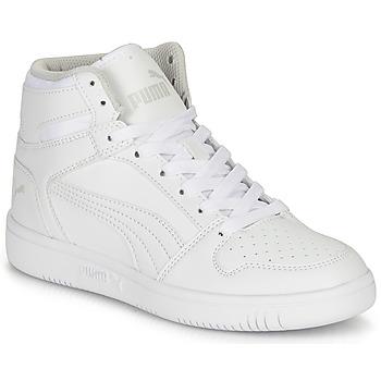 Chaussures Enfant Baskets montantes Puma REBOUND LAYUP B Blanc