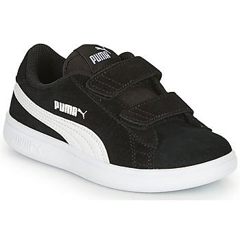 Chaussures Garçon Baskets basses Puma SMASH V2 SD V Noir