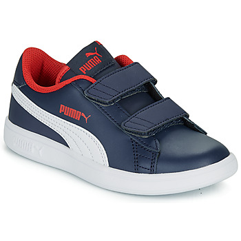 Chaussures Garçon Baskets basses Puma SMASH V2 L V PS Marine