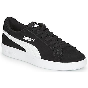Chaussures Garçon Baskets basses Puma SMASH V2 SD JR Noir