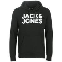 Vêtements Homme Sweats Jack & Jones JJECORP LOGO Noir