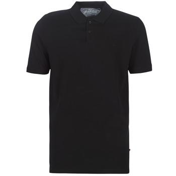 Vêtements Homme Polos manches courtes Jack & Jones JJEBASIC Noir