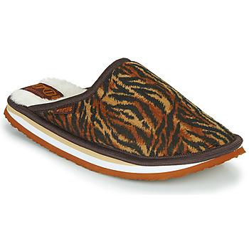 Chaussures Femme Chaussons Cool shoe HOME WOMEN Marron / Leopard