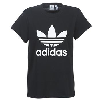Vêtements Femme T-shirts manches courtes adidas Originals BOYFRIEND TEE Noir