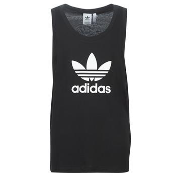 Vêtements Homme Débardeurs / T-shirts sans manche adidas Originals TREFOIL TANK Noir