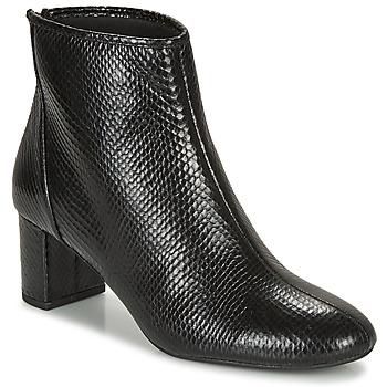 Chaussures Femme Bottines André LEADERS Noir