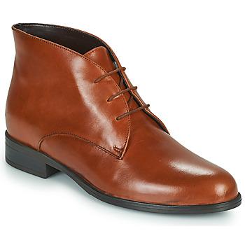 Chaussures Femme Boots André EMILIE Cognac