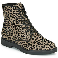 Chaussures Femme Boots André NERON Gris