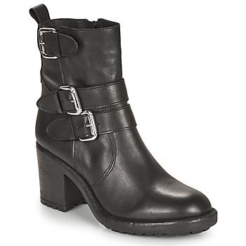Chaussures Femme Bottines André NASHUA Noir