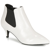 Chaussures Femme Bottines André LUCIANA Blanc