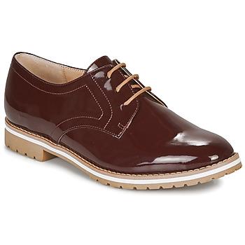 Chaussures Femme Derbies André CICERON Rouge