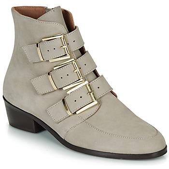 Chaussures Femme Boots André ERNA Gris