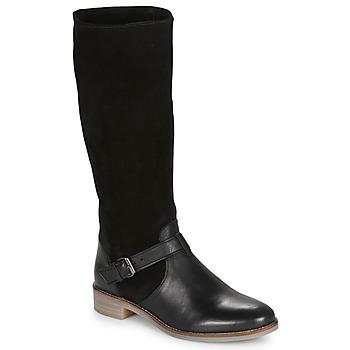 Chaussures Femme Bottes ville André ELIA Noir