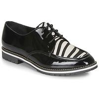 Chaussures Femme Derbies André CHARLELIE Noir motif