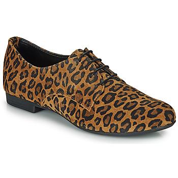 Chaussures Femme Derbies André CAMARADE LEOPARD