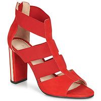 Chaussures Femme Sandales et Nu-pieds André LA DETERMINEE Rouge