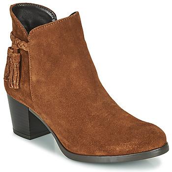 Chaussures Femme Bottines André MARYLOU Cognac