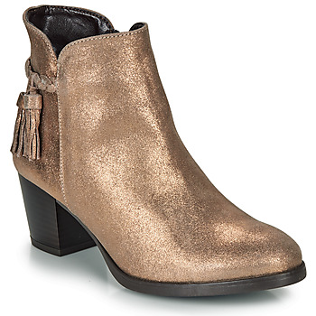 Chaussures Femme Bottines André MARYLOU Or