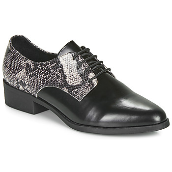 Chaussures Femme Derbies André NOUGATINE NOIR MOTIF