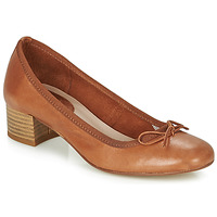 Chaussures Femme Ballerines / babies André POEME Camel