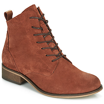 Chaussures Femme Boots André GODILLOT Orange