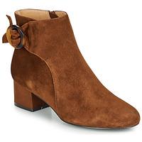 Chaussures Femme Bottines André LOUISON Cognac
