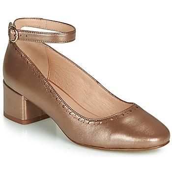 Chaussures Femme Ballerines / babies André LAUREATE Or