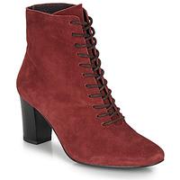 Chaussures Femme Bottines André MELUSINE Rouge