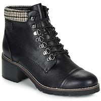 Chaussures Femme Boots André EIGER NOIR VERNIS