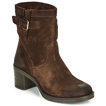 Chaussures Femme Bottines André MANDARINE Marron