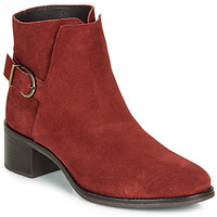 Chaussures Femme Bottines André MIRLITON Rouge