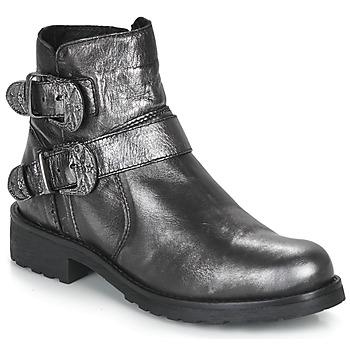 Chaussures Femme Boots André NORCROSS Argent